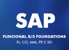 SAP Funcional R/3 Foundations - FI, CO, MM, PP, e SD